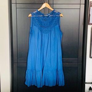Pink Blush blue summer dress